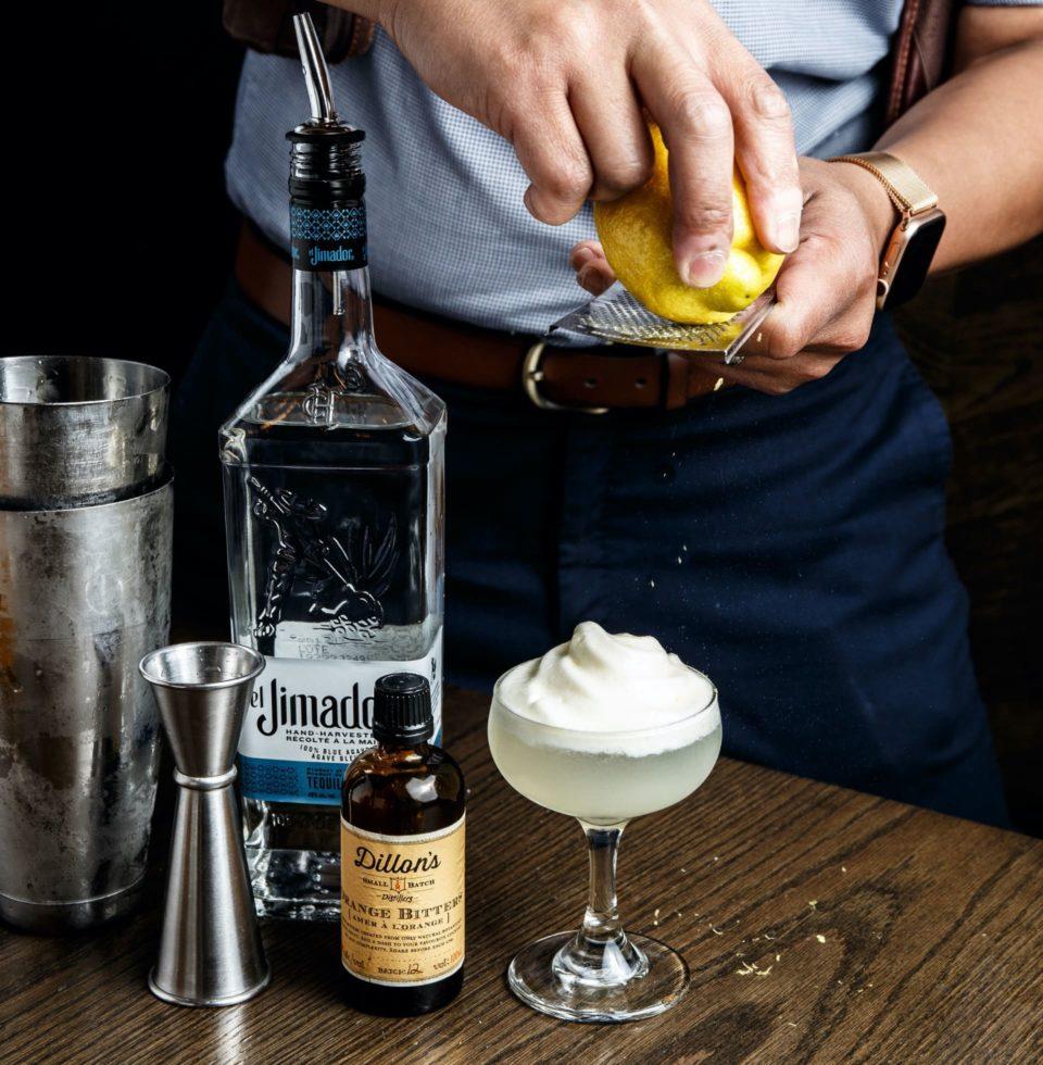 Our Japanese inspired cocktails. - Yuzu Cream -