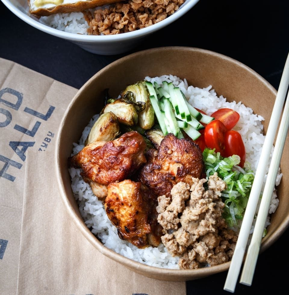 rice bowl for takeout